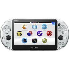 SONY Playstation Vita PSV 2000 WiFi Console Silver CN *VGC*+Warranty!