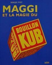 BOOK/LIVRE : MAGGI BOUILLON KUB > PUB/ADS,AFFICHE