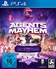 Agents of Mayhem: day one edition ps4-neuf neuf dans sa boîte-livraison rapide