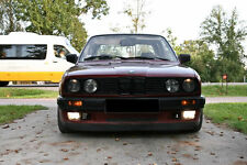 BMW E30 WIDE IS front bumper spoiler chin lip addon valance trim splitter GTR M3