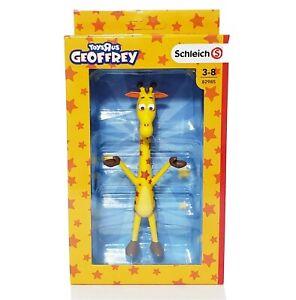 GEOFFREY GIRAFFE Mascot SCHLEICH Action Figure TOYS R US Exclusive TRU  Rare NEW