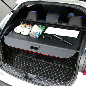 Fit for Toyota C-HR CHR 2016-2019 Black Retractable Rear Trunk Cargo Cover 1Set