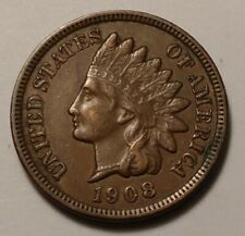 1908 Indian Head Cent 2707