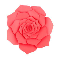 30/40cm 1Pcs Paper Flower Backdrop Wall Large Rose Flowers Wedding Party Decor