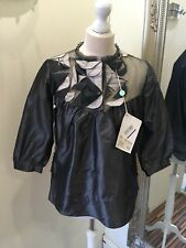 Designer Y And Kei Water The Earth Silk Top New With £249 Tag Attached