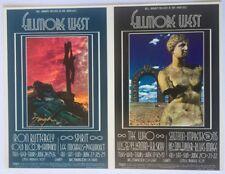 Bill Graham BG 178/179 Double Postcard Signed Fillmore West 1969