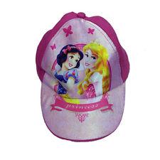 PRINCESSE BLANCHE-NEIGE AURORA chapeau avec visière en 100% doux coton fuchsia