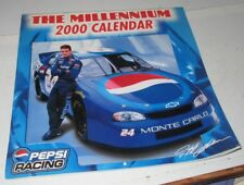 1999 NASCAR Jeff Gordon 2000 MILLENNIUM Opened Unused Wall Calendar Racing