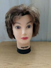 Cosmetology Mannequin Training Head Human Hair SHORT