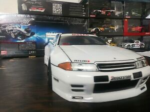 Custom Painted RC body NISSAN R32 for 1/10 Drift Cars Touring HPI 200mm
