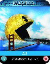 Pixels Steelbook Blu-Ray   (Adam Sandler) (Kevin James) (2015)