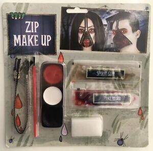 Blood Zip Zipper Make Up Kit Fancy Dress PARTY ( BUY 3 GET 1 FREE )