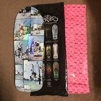 Santa Cruz Natas Bling Bag Skateboard Deck Photo With Custom Prismatic Rare 10.5