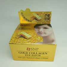 SNP Gold Collagen Firming Eye Patch Real 24K Gold 60 Patches