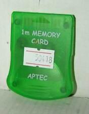 MEMORY CARD COMPATIBILE PER PS1 USATA SENZA CONFEZIONE MARCA APTEC VBC 50418