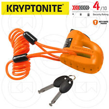 BLOCCADISCO ANTIFURTO KRYPTONITE KEEPER S2 5.5mm DISCK LOCK CAVO REMINDER MOTO