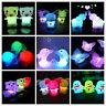Cambia De Color LED Lámpara De Luz Nocturna Hogar Niños Habitación bebé