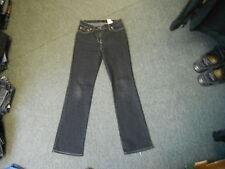 "Next Bootcut Jeans Size 8 Leg 30"" Black Faded Ladies Jeans"