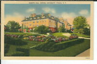 CI-258 NY Ithaca Roberts Hall Cornell University Linen Postcard New York