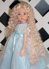 """DOLL Wig, Monique """"Christine"""" Size 6/7 in Honey Blonde"""