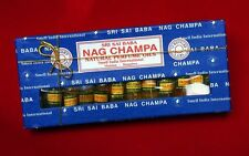 Sri Sai Baba Nag Champa Natural Indian Perfume Oils : Set of 12 3ml Fragrances