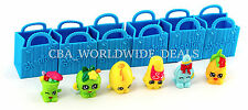 NEW Shopkins Season 1 - Set of 6 Figures with Shopping Bags - LOOSE