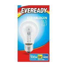 Lightbulb Halogen GLS 100w ES (80w) Eveready NEW!!