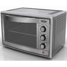 Convection Toaster Oven Stainless Large Pizza Toast Bake Broil Roast Counter Top