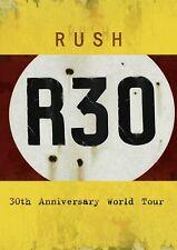 RUSH - R30-30TH ANNIVERSARY WORLD TOUR 2 DVD NEU