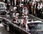 Внешний вид - New 8x10 Photo: Dallas Motorcade of John F. Kennedy Just Before Assassination