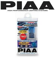 PIAA Xtreme White DRL Error Free Bulbs T20 7443 Super Bright 27/8W Output H226