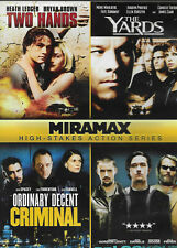 Miramax High Stakes Action Series (Dvd, 2011) 4 Features on one disc !Disc Only