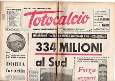 rivista BOLLETTINO UFFICIALE DEL TOTOCALCIO 21 MARZO 1967 NUMERO 12
