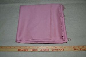 """Cotton quilting fabric 43"""" x 5 yards, rose pink"""