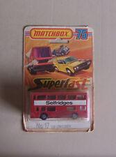 Matchbox SF17 Selfridges double decker bus in blister pack rare