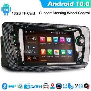 CarPlay Android 10.0 Car Stereo Radio for Seat Ibiza DAB+ SatNav WiFi OBD2 BT CD