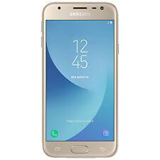 SAMSUNG Galaxy J3 (2017) Duos, Smartphone, 16 GB, 5 Zoll, Gold, Dual SIM