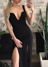 ❤️ Womens NIKI BLOSSOM Brand Size 8 Black Formal Maxi Dress FREE POSTAGE ❤️