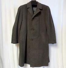 Vtg Royal Kashan Stratbury Mens Overcoat Trench Coat for L Strauss & Co