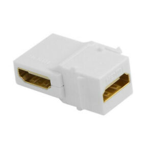90 Degree Right Angled HDMI Female to Female Jack Coupler Adapter Connector