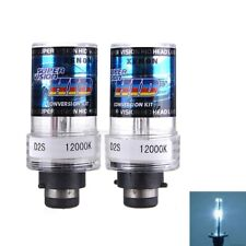 2x 12000K 35W D2S/D2C Car HID White Xenon Headlight Lamp Replacement Bulb 2000lm