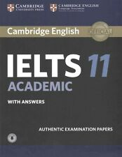 Cambridge IELTS 11 Academic Student's Book with Answers with Audio CD (used)