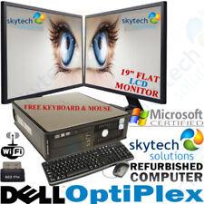 Desktop PC Intel Core 2 scheda grafica dedicata SO Windows 7