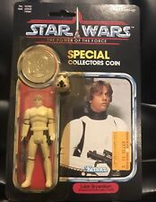 STAR WARS KENNER POTF 1984 LUKE STORMTROOPER MINT ON CARD 92 BACK Vintage