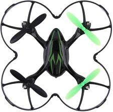 Drone Hubsan X4 H107C 2.4G 4CH RC Quadcopter with HD 2 MP Camera RTF Nero-Verde