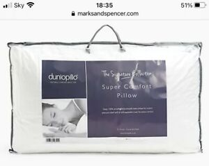 Dunlopillo Super Comfort Pillow Full Latex Signature Collection