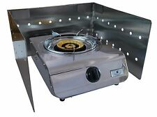 Wind Shield for Single Gas Cooker - Stainless Steel