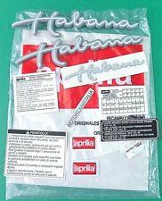 APRILIA HABANA 50 CUSTOM  ADESIVI ADESIVO CARENA STICKER FAIRING DECAL 8257616
