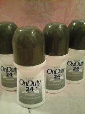AVON On Duty Original Bonus Size Roll-On Anti-Perspirant Deodorant - FOUR!!!