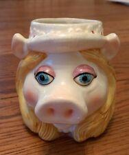 Jim Henson The Muppets Miss Piggy ceramic mug Sesame Street Soma Tastesetter Htf